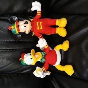 Donald and Mickey Mouse Toys